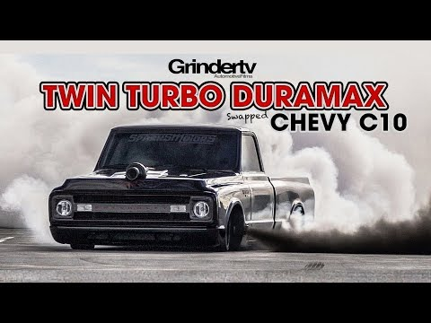 Twin Turbo Duramax Chevy C10