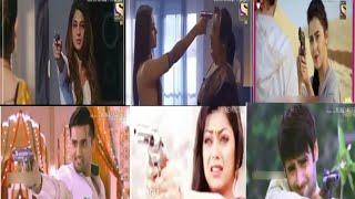 اطلاق النار و حمل المسدس في المسلسلات الهنديه 😘💗💙💚💛💜