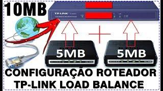 REVIEW CONFIGURAÇÃO E ANALISE DO ROTEADOR TP-LINK LOAD BALANCE TL-R470T+ 10/100MBPS