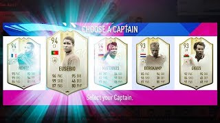 BEST POSSIBLE ICON FUT DRAFT CHALLENGE! - FIFA 19 Ultimate Team