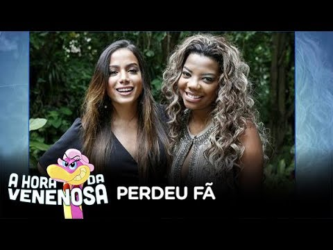 Anitta defende Ludmilla e perde fã