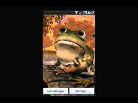 3D Toad Live Wallpaper