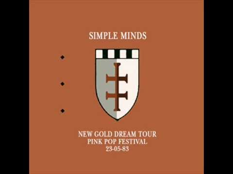 Simple Minds - Pinkpop Festival Geleen Holland 23.05.1983 FM Broadcast