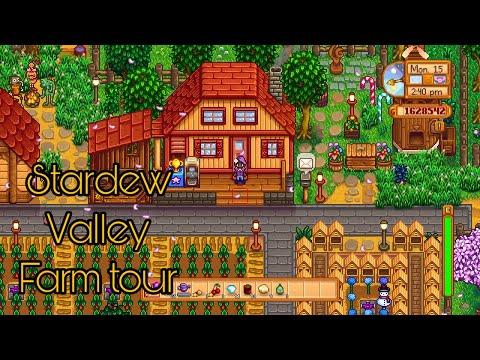 Stardew Valley Farm Tour Year 7 (No Mods) End game