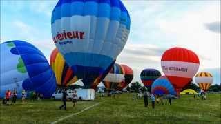 Gatineau Balloon Festival / Montgolfieres de Gatineau 2013 HD 1080p - Time Lapse