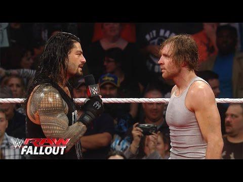 Dean Ambrose Und Roman Reigns Klären Die Fronten: Raw Fallout – 16. November 2015