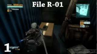 Metal Gear Rising Revengeance All Cardboard Boxes Locations Peekaboo