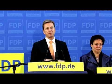 Guido Westerwelle zur Hamburg-Wahl, Hartz...