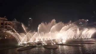 Dubai Mall | Dancing Fountain | Burj Khalifa