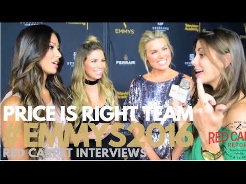 Manuela, Amber & Rachel #PriceisRight at Stars of Daytime TV Celebrate Emmy Season Event