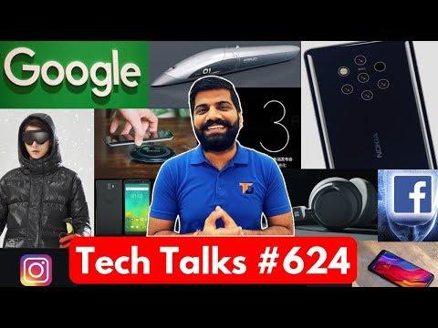 Tech Talks #624 - Nokia 9 Pureview, OnePlus 6T, Microsoft Headphones, Apple Emoji, Instagram Down