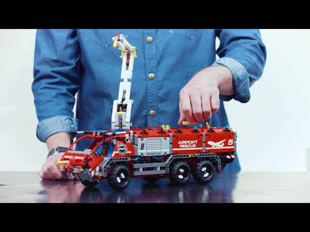 Lego Technic 42068 Airport Rescue Vehicle Building Kit Alzacouk