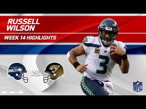 Russell Wilson Highlights | Seahawks vs. Jaguars | Wk 14 Player Highlights