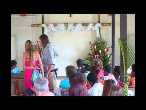 Daniel and Joanna's Wedding Vanuatu