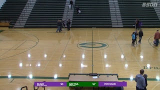 BSDN Live - Blair vs Gretna - Boys Basketball - 2017/18