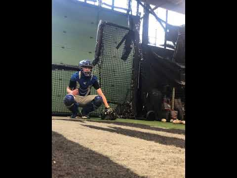 Declan Hickey College Catching/Hitting