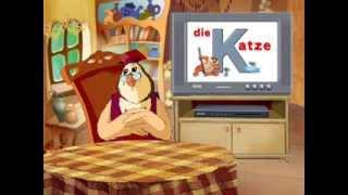 Немецкий алфавит - Буква K (Уроки тетушки Совы)