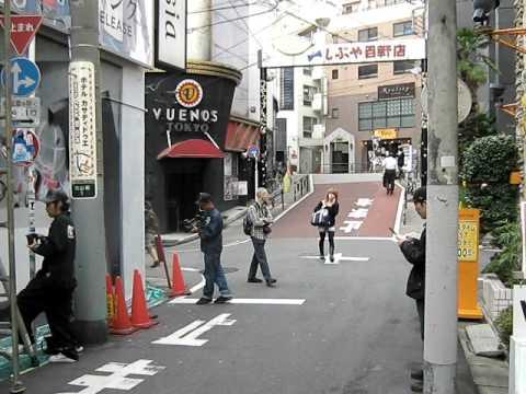Writing / Aerosol Art  / Graffiti in Shibuya - Tokyo (Love Hotel Area)