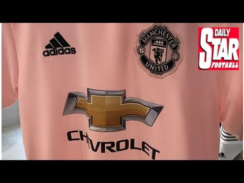 Manchester United s new pink away kit for 2018-19  leaked  - YouTube 67c346181