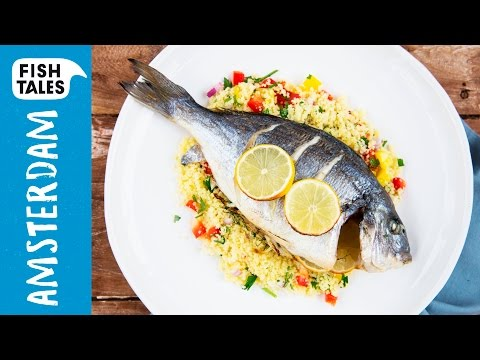 Baked SEA BREAM & Couscous | Bart's Fish Tales