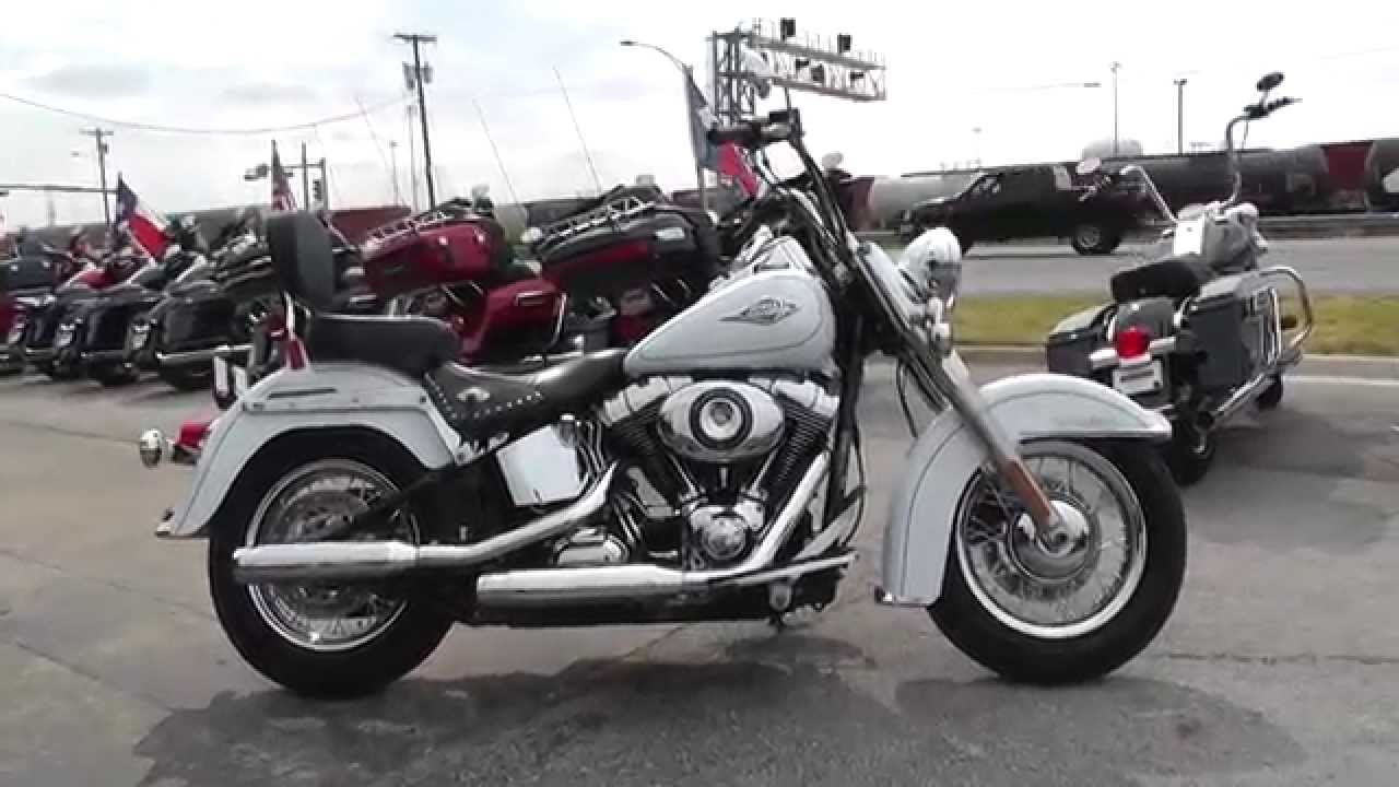 026006 - 2012 Harley-Davidson Heritage Softail Classic FLSTC - Used Motorcycle For Sale - YouTube