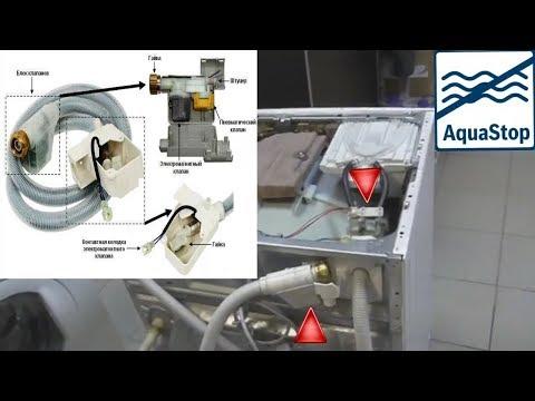 Ремонт и прочистка АкваСтоп стиральной машины