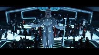 """""""Tron: Legacy"""": Zuse Chapter - Fight and Elevator Fall Scenes (""""Derezzed"""" and """"Fall"""") [HD]"""