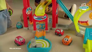 Autodráha pro děti Vroom Planet Mega Jump Smoby sk