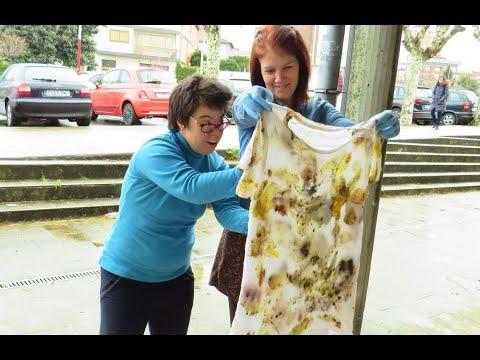 Creación de las camisetas solidarias a beneficio de Bicos de Papel
