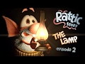 RATTIC - THE LAMP | Season 1 Episode 2 |  NEW 3D Animated Funny Cartoon Series FULL HD