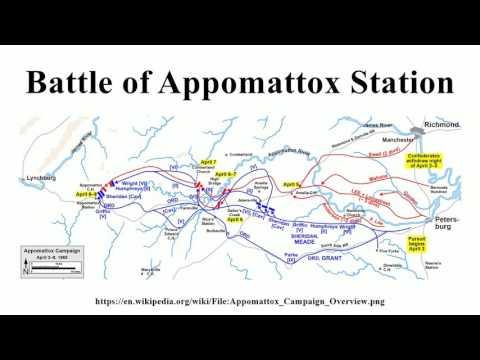 Battle of Appomattox Station