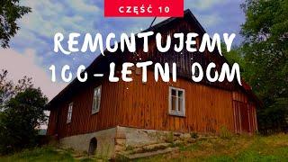 Cz.10 - Remont starego domu z drewna, remontujemy dom z bali! Dotarła wełna :)