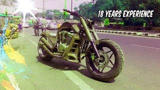 18 Years Experience of Custom Bikes Modification ! BY MACK RIDER !