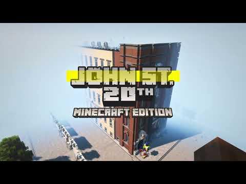 john st. 20th anniversary: Minecraft edition