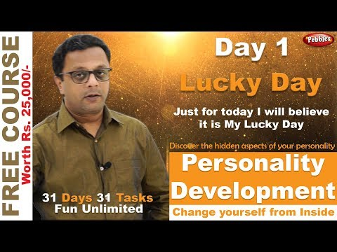 personal-development-course-&-self-improvement-|-self-improvement-channels-|-my-lucky-day-|-day-1