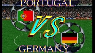 N64 International Superstar Soccer 64 - Portugal vs Germany