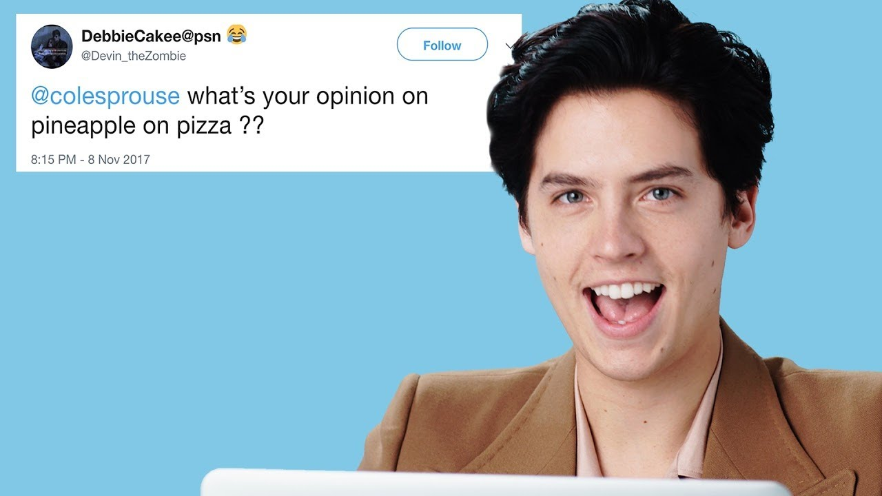 Cole Sprouse Goes Undercover on Reddit, Twitter and YouTube