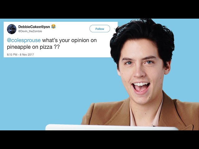 Cole Sprouse Goes Undercover on Reddit, Twitter and YouTube | GQ