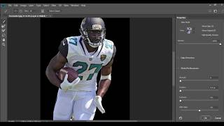 How to cutout a player in photoshop!