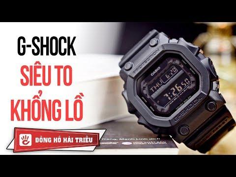 Review đồng Hồ Nam G-SHOCK GX-56BB-1 Siêu To Khổng Lồ