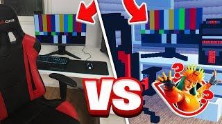בניתי את החדר גיימינג שלי בפורטנייט קריאייטיב ושיחקנו בו מחבואים!! (עם FlashGG ו Cycnic )