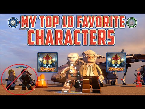 LEGO Marvel's Avengers - My Top 10 Favorite Characters in LEGO Marvel's Avengers