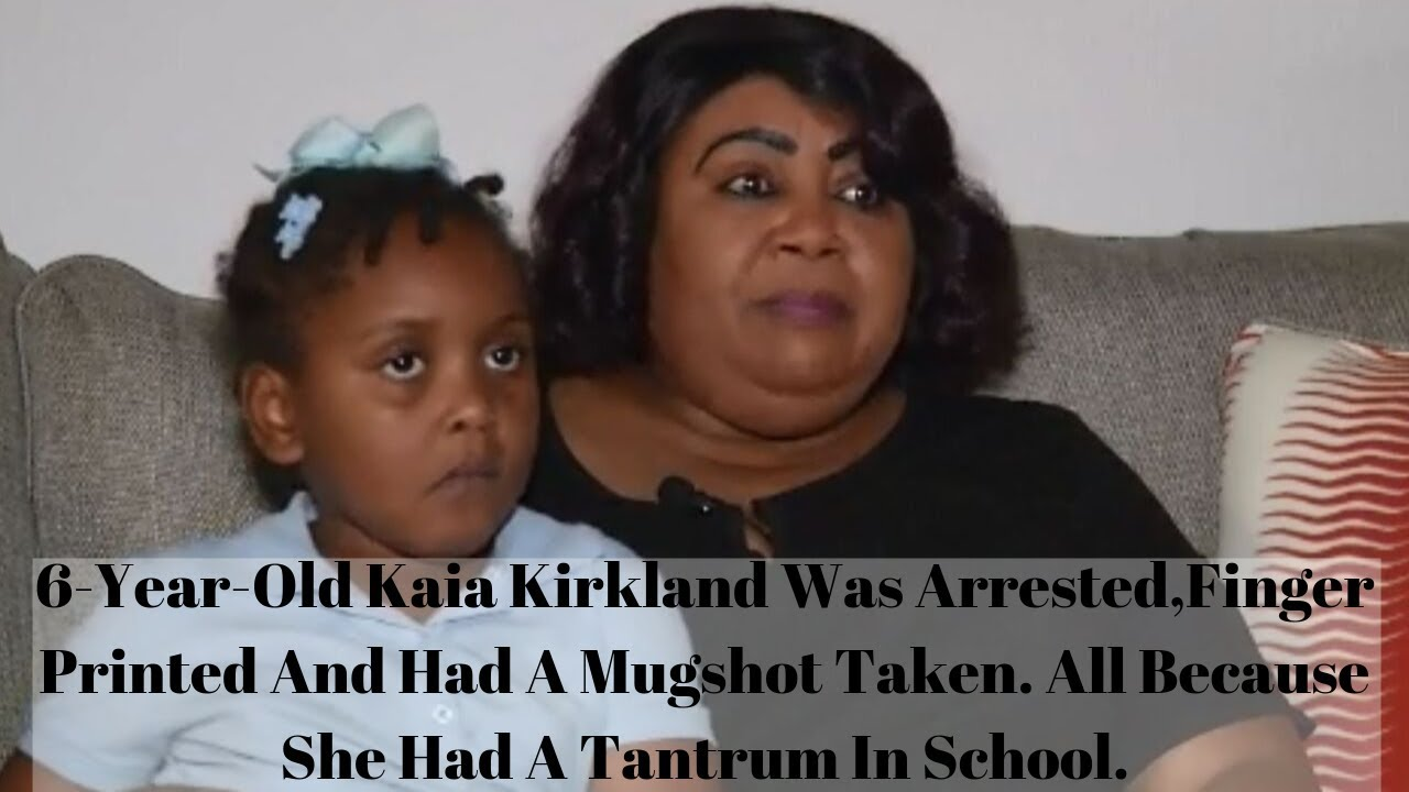 Florida| Grandmother| Outraged After 6-year-Old Was Arrested & Charged For 'Tantrum'