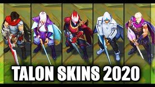 All Talon Skins Spotlight 2020 (League of Legends)