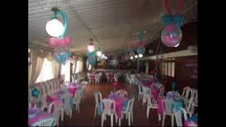 DECORACION CON GLOBOS PARA BABY SHOWER 2