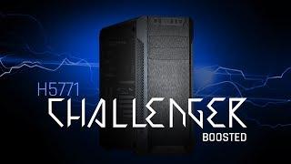 Komputer dla graczy CHALLENGER BOOSTED (OC) H5771 - test wydajności w grach i specyfikacja