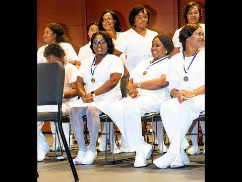 PRINCE GEORGES COMMUNITY COLLEGE CLASS OF FALL 2019 DEPARTMENT OF NURSING.PINNING CEREMONY