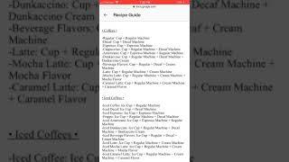 Dunkin' Donuts Recipe (ROBLOX)