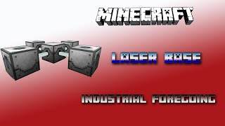 Laser Base / Laser Drill 💎 Minecraft Industrial Foregoing Tutorial 💎 English