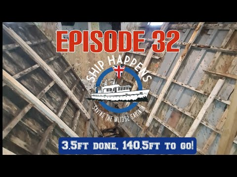 Ep 32- Nothing beats failure like a try! Restoration our WW2 Boat